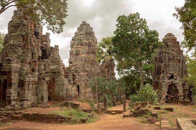 Phnom Banan Temple - Untouch Indochina Tour 20 Days