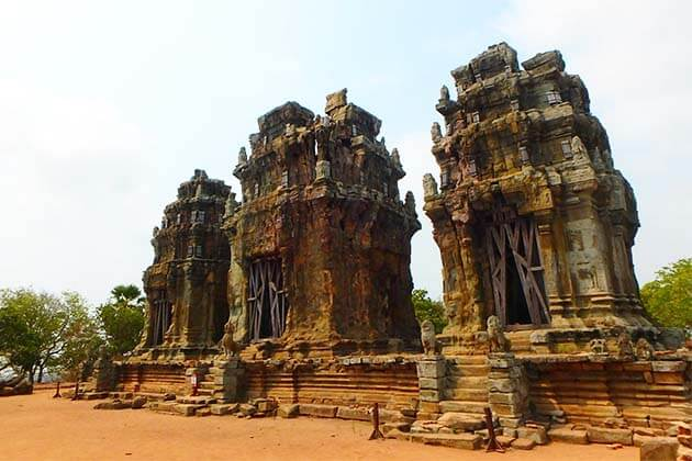 Phnom Krom Temple Indochina Travel 20 Days