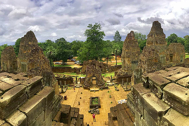 Pre Rup from above - Cambodia Laos Tour Package