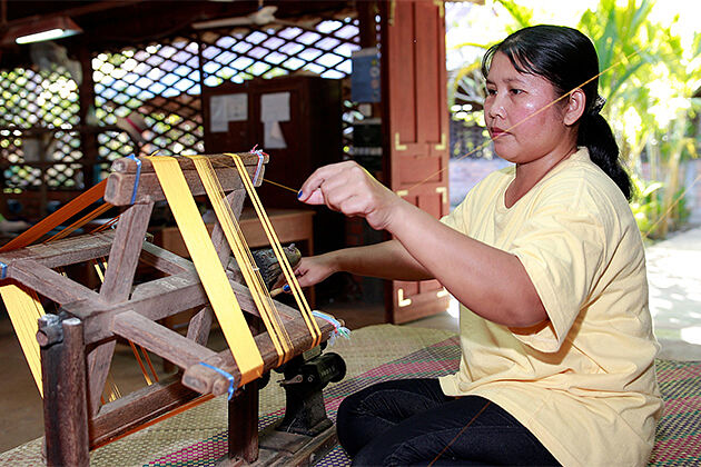 Puok Silk Farm in Battambang - Untouch Indochina 20 Days