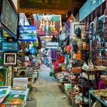 Russian Maket Phnom Penh - Cambodia Laos 12 Day Tour