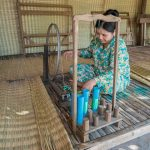 Silk Weaving Village Cambodia