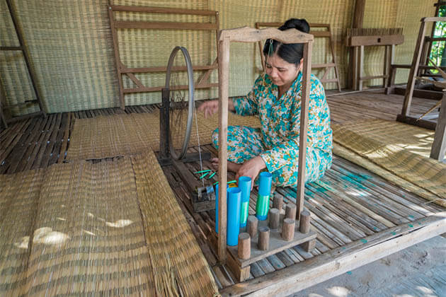 Silk Weaving Village Cambodia Vietnam Holiday Package