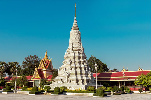 Silver Pagoda Phnom Penh - Indochina Holiday 20 Days