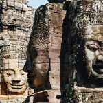 Smiling Stone on Bayon Temple