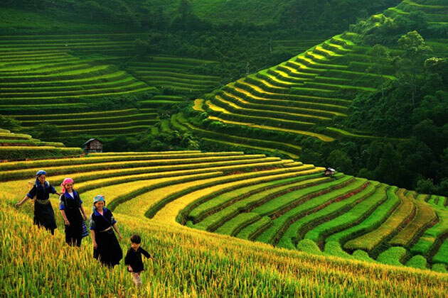 Stunning Muong Hoa Valley in Vietnam and Cambodia Tour