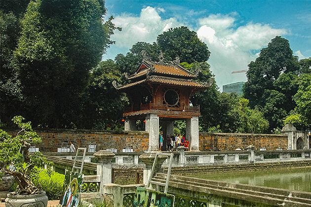 Temple of Literature Hanoi Indochina Tour