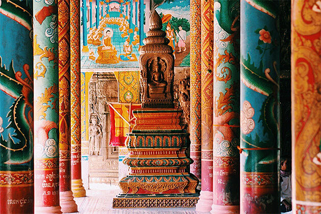 Temple of Wat Nokor Untouch Indochina Trip 20 Days