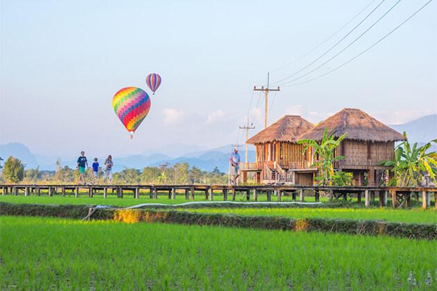 Vang Vieng Town - Treasure of Indochina 26 Days
