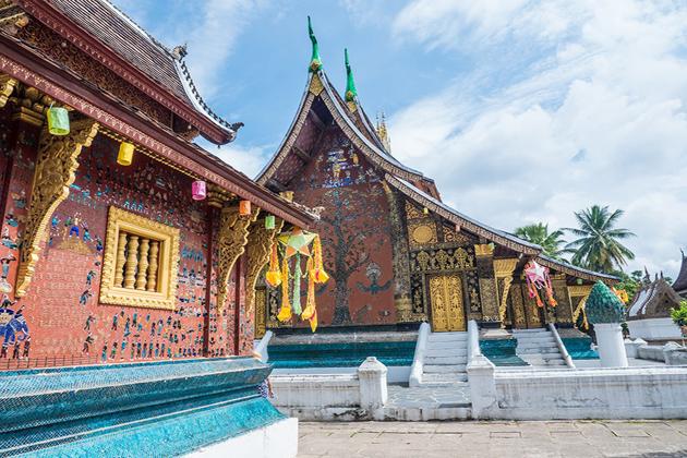Wat Xieng Thong - Laos Cambodia 9 Day Tour