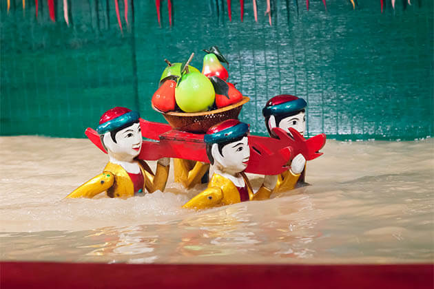 Water Puppet Show - Vietnam Cambodia Tour Package