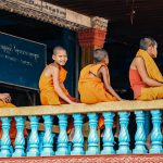 Young monks at Wat Hanchey
