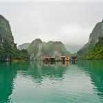 floating village and Pearl Farm in Halong Bay