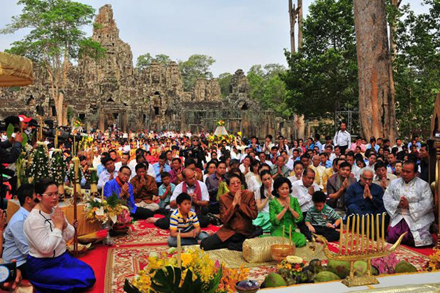 Khmer New Year – All about Cambodian New Year 2019