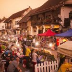 night market luang prabang - Indochina Trip to Cambodia Laos