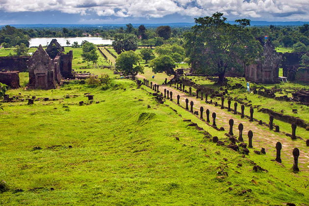 Wat Phu - Indochina Tours to Cambodia and Laos
