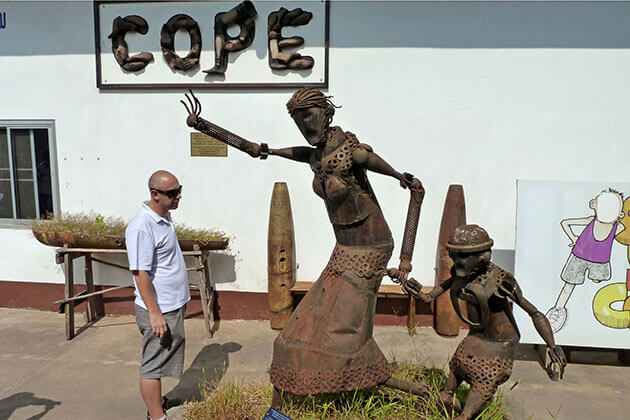 COPE visitor centre laos must see place in indochina