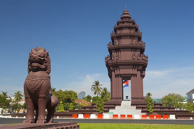 Independence Monument Cambodia & Vietnam Vacation