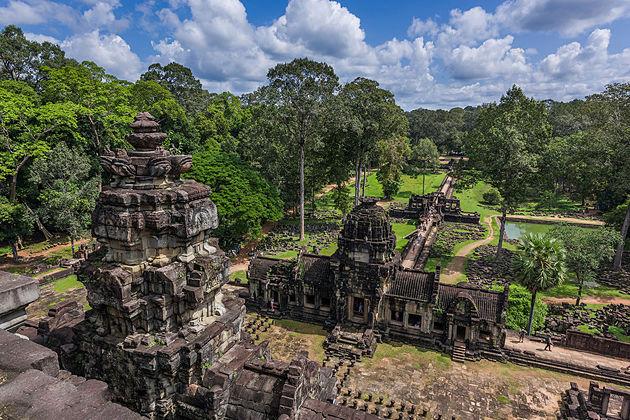 Trip to Vietnam & Cambodia - Phimeanakas Temple