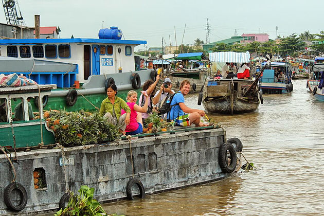 Cai Be Floating Village Vietnam