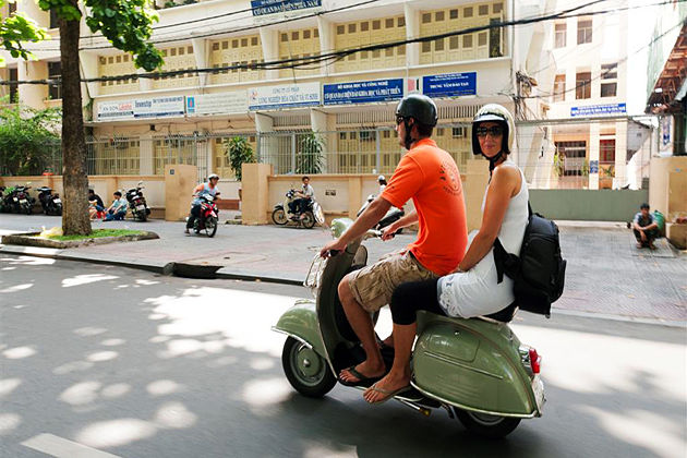 Saigon Vespa Tour Vietnam Cambodia Travel