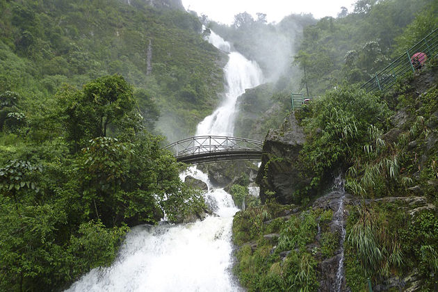 Silver Waterfall Sapa - Vietnam Cambodia Tour 26 Days
