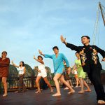 tai chi lesson vietnam and cambodia tour