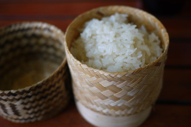 Lao Sticky Rice - The Traditional Dish for Breakfast in Laos
