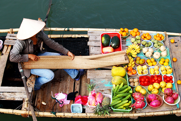 Spirit of Vietnam and Cambodia Tour - Cai Be Floating Market