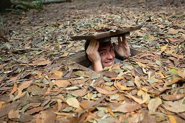 Spirit of Vietnam and Cambodia Tour - Cu Chi Tunnels