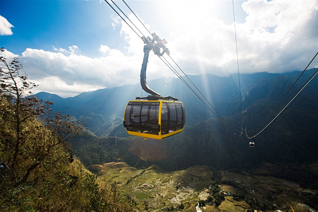 Spirit of Vietnam and Cambodia Tour - Fansipan Peak by Cable Car