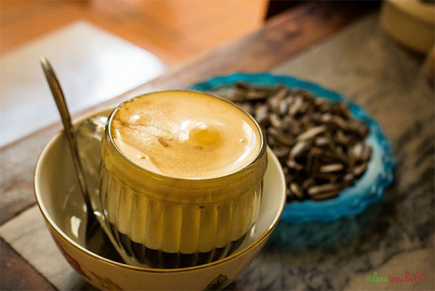 cafe trung is must try drink in northern vietnam