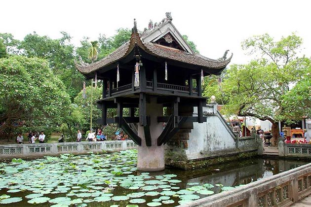 one pillar oagoda and southeast asia tours