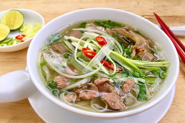 pho is the most famous vietnamese street foods in vietnam