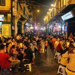 sample streets foods in Hanoi old quarter