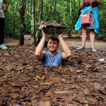the complicated network of Cu Chi Tunnels in southeast asia tours