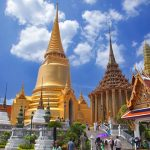 wat phra krew in bangkok city