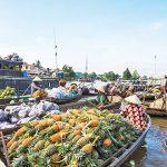 Chau Doc's Vibrant Floating Market