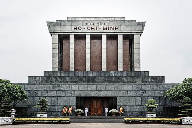 Ho Chi Minh Mausoleum Hanoi - Tour to Vietnam Cambodia