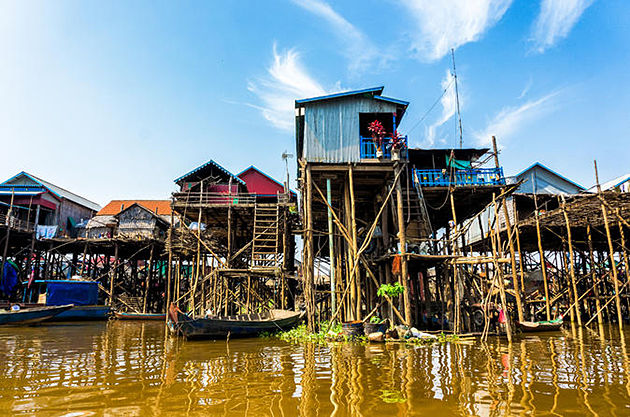 Kompong Phhluk Tonle Sap Lake - 19 Day Southeast Asia Tours