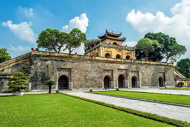 Main Sector of the Thang Long Imperial Citadel