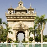 Patuxai Victory Monument in Vientiane