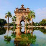 Patuxay Monument Vientiane - Laos North Vietnam Tour