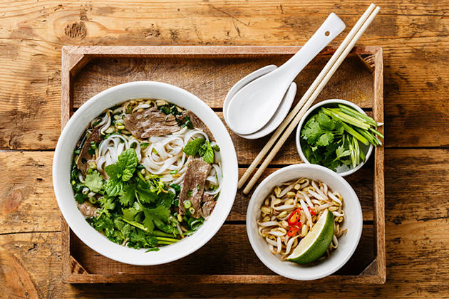 Pho Noodle Hanoi - Vietnam Cambodia Tour 23 Day