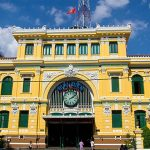 Saigon Center Post Office – Vietnam Cambodia 23 Day Tour