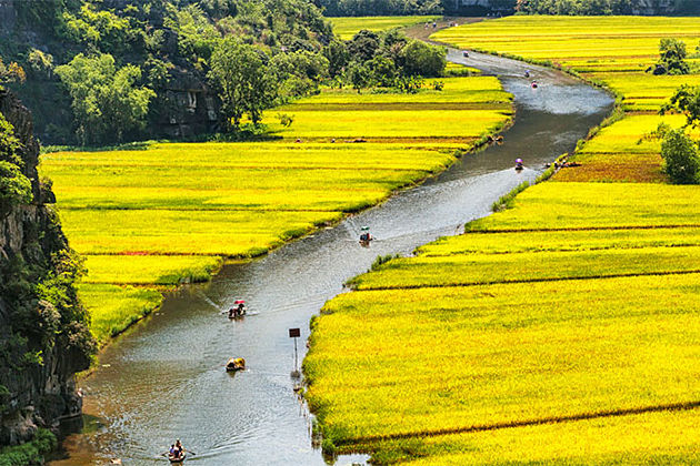 Trang An Landscape Complex Vietnam World Heritage