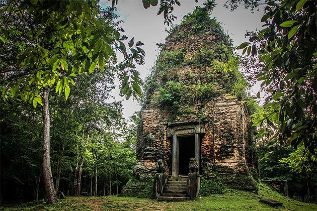 UNESCO World Heritage of Prei Kuk
