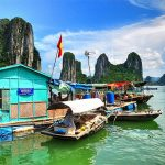 Vung Vieng Fishing Village Halong Bay Vietnam Laos 9 Day Tour