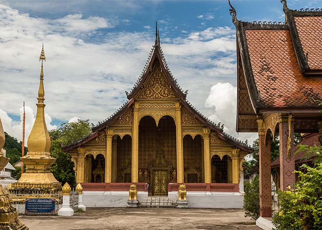 Wat Sene Vientiane - Vietnam Laos Tour Package