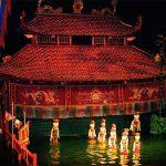 Water Puppet Show Hanoi - North Vietnam Laos Tour